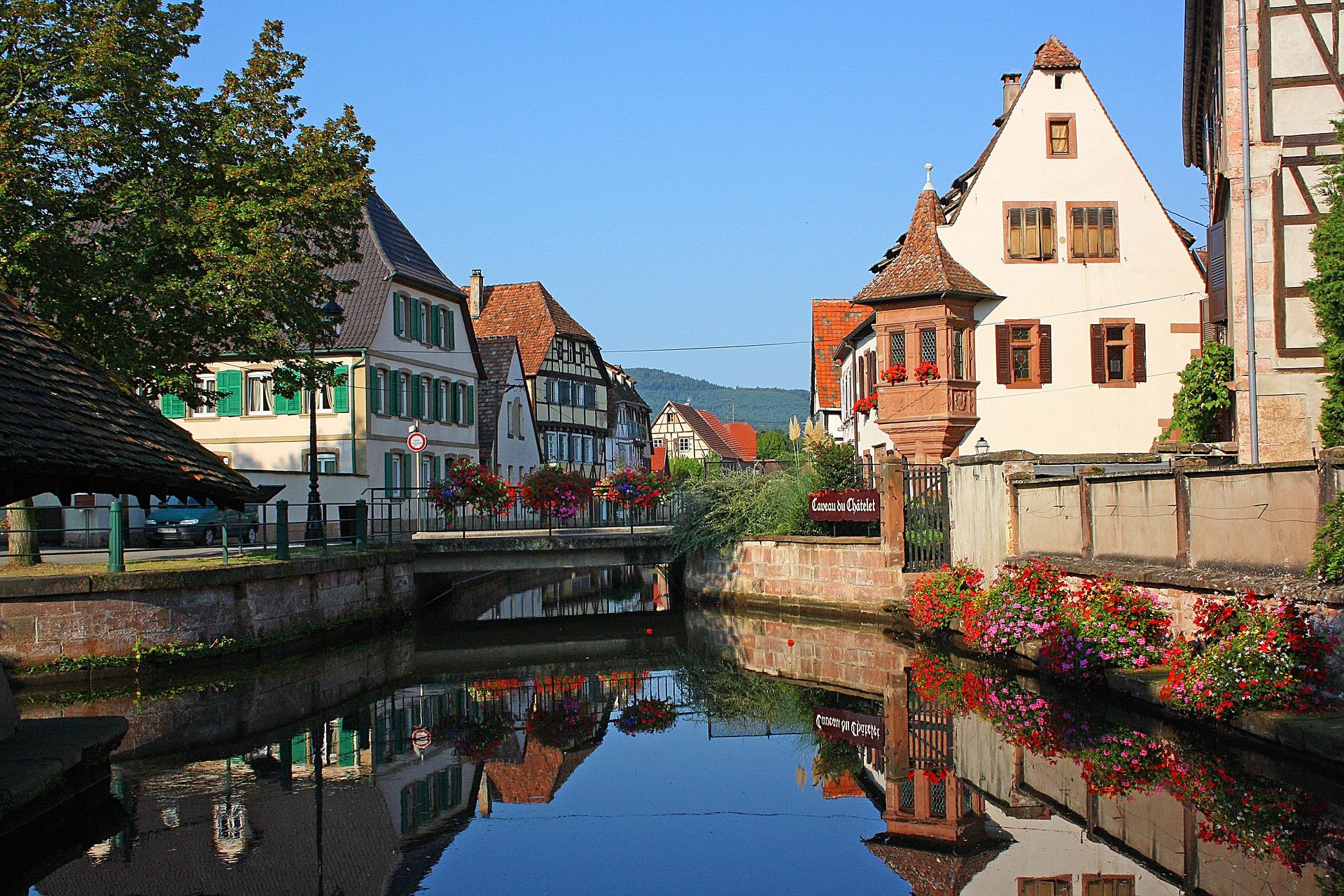 Day 6. Alsatian wine route – Colmar – Riquevihr - Kaysersberg