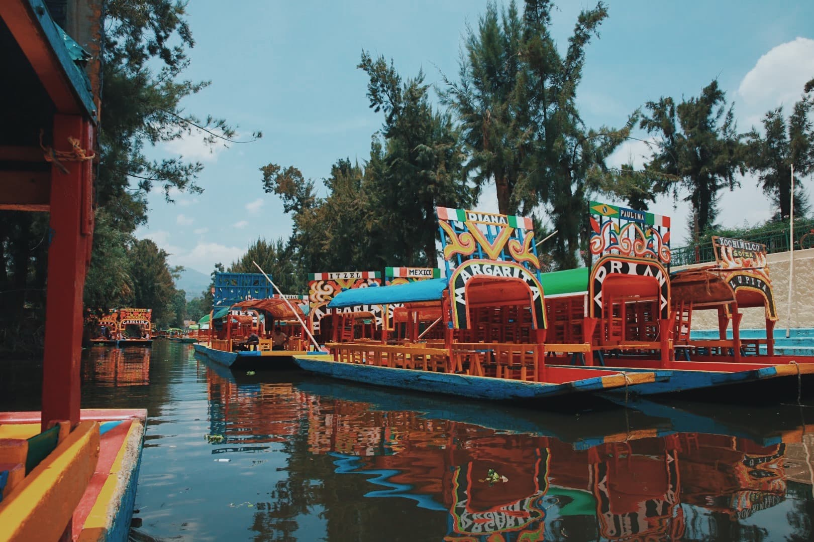 Day 2 - Floating markets of Xochimilco